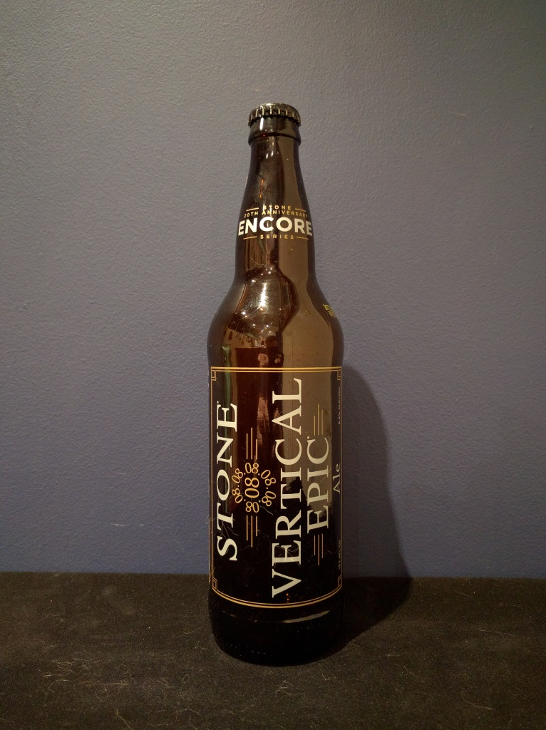 08.08.08 Vertical Epic Ale, Stone Brewing Co.jpg