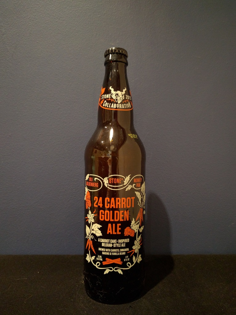 24 Carrot Golden Ale, Stone Brewing Co.jpg