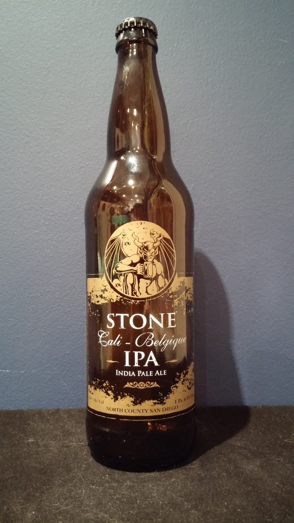 Cali-Belgique IPA, Stone Brewing Co.jpg