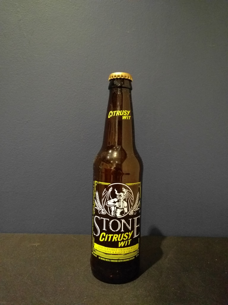Citrusy Wit, Stone Brewing Co.jpg
