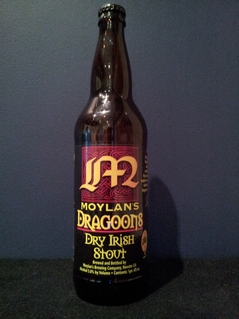 Dragoons Dry Irish Stout, Moylan's.jpg