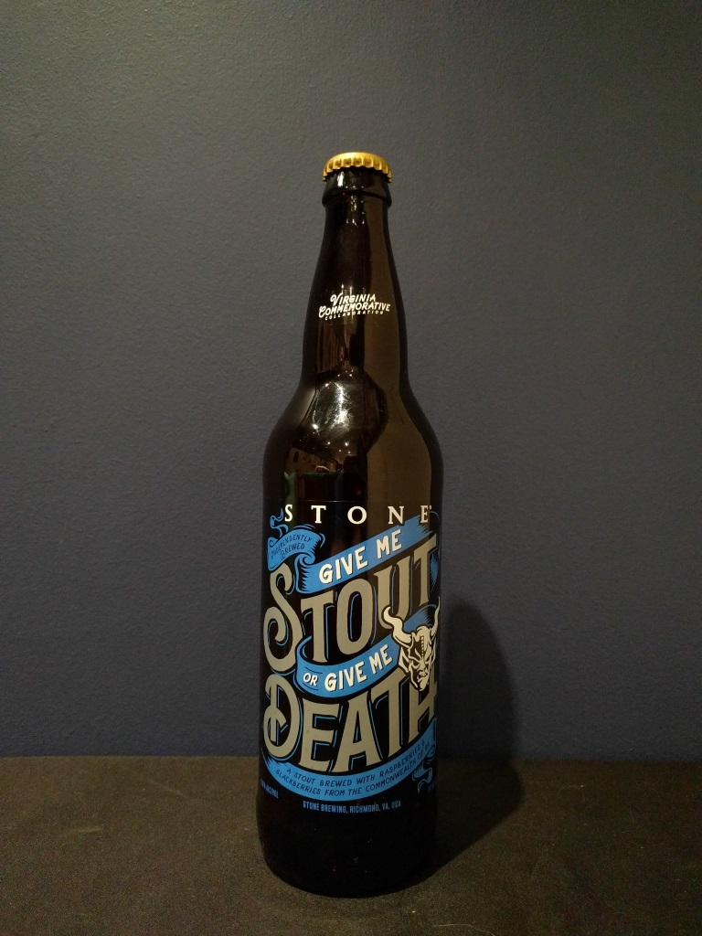 Give Me Stout or Give Me Death, Stone Brewing Co.jpg