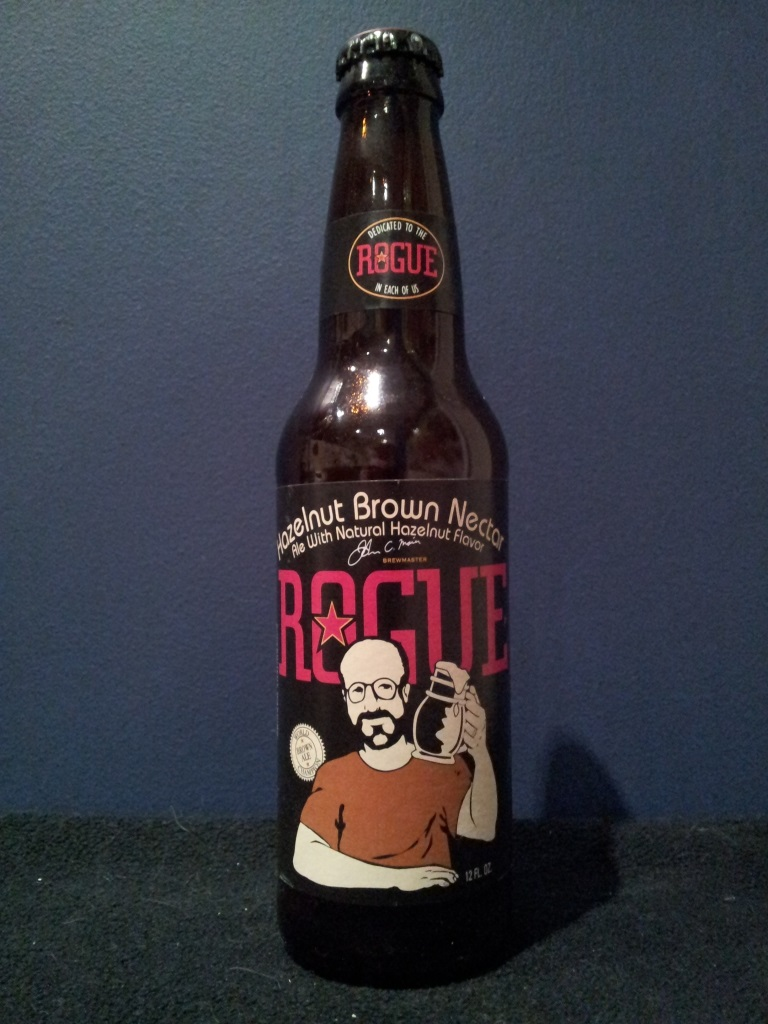 Hazelnut Brown Nectar, Rogue Ales.jpg