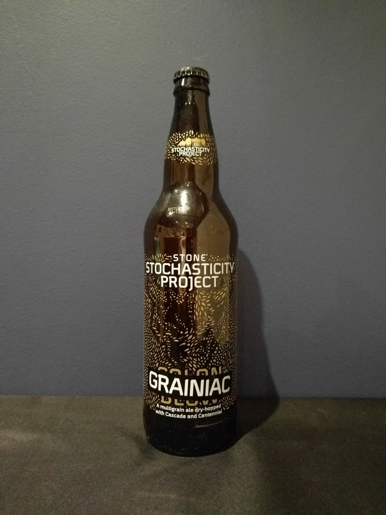 Stone Stochasticity Project Grainiac, Stone Brewing Co.jpg