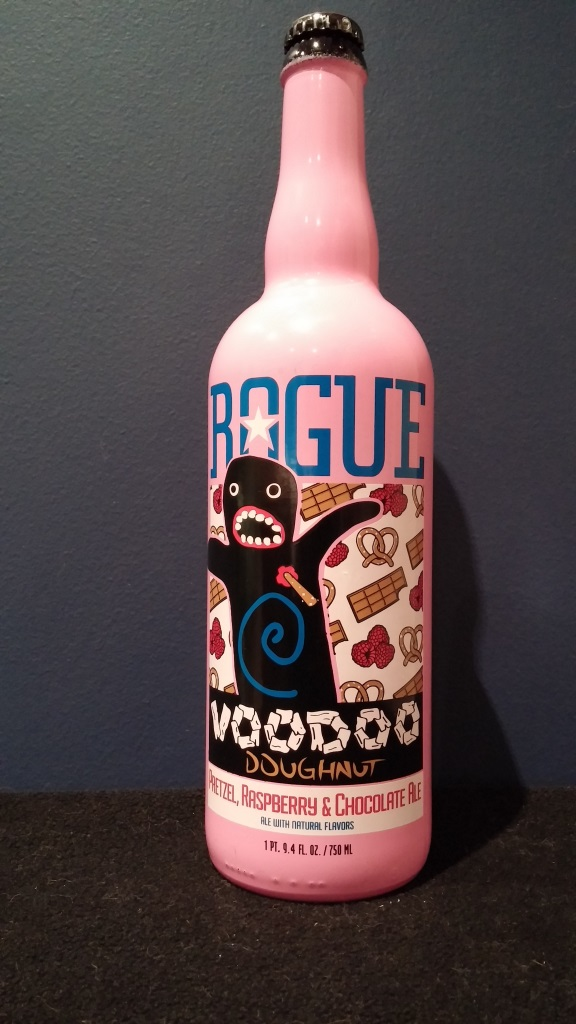 Voodoo Doughnut Pretzel, Raspberry & Chocolate Ale, Rogue Ales.jpg