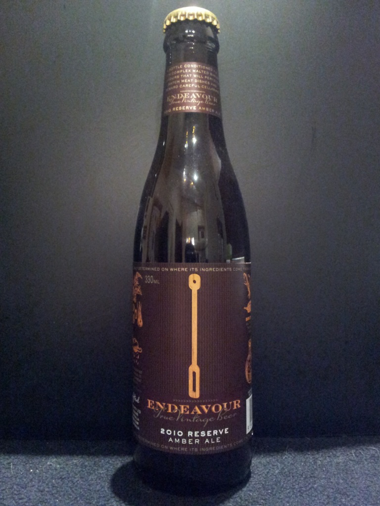 2010 Reserve Amber Ale, Endeavour.jpg