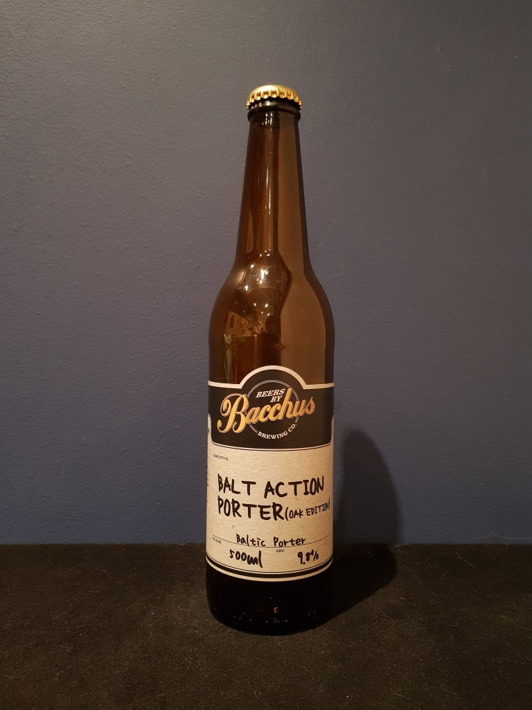 Balt Action Porter (Oak Edition), Bacchus Brewing.jpg