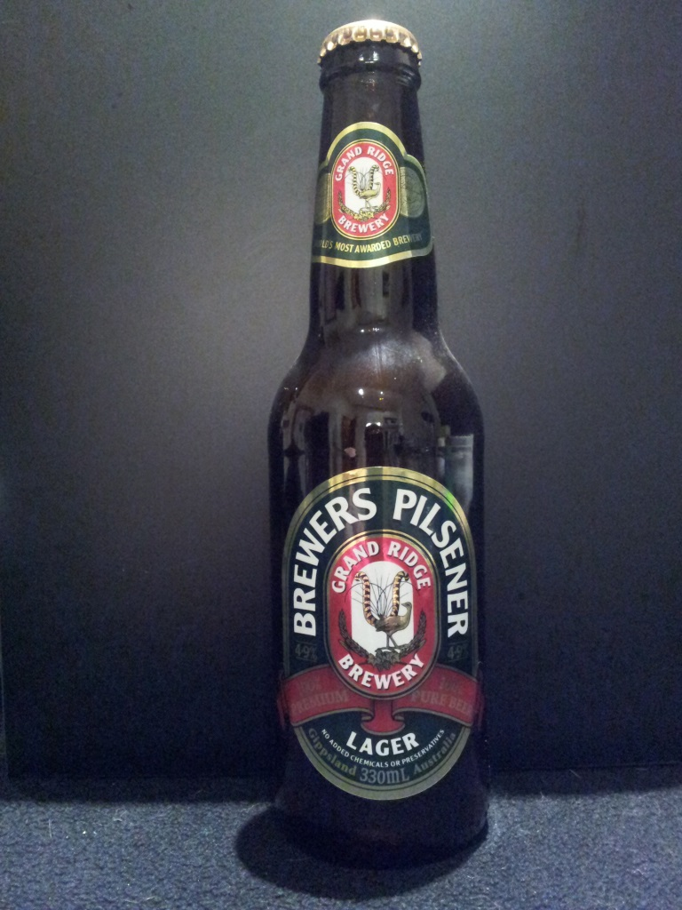 Brewers Pilsener Lager, Grand Ridge.jpg