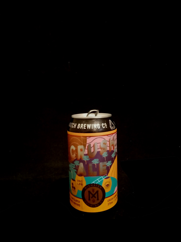 Crush Ale, Mismatch Brewing Company.jpg