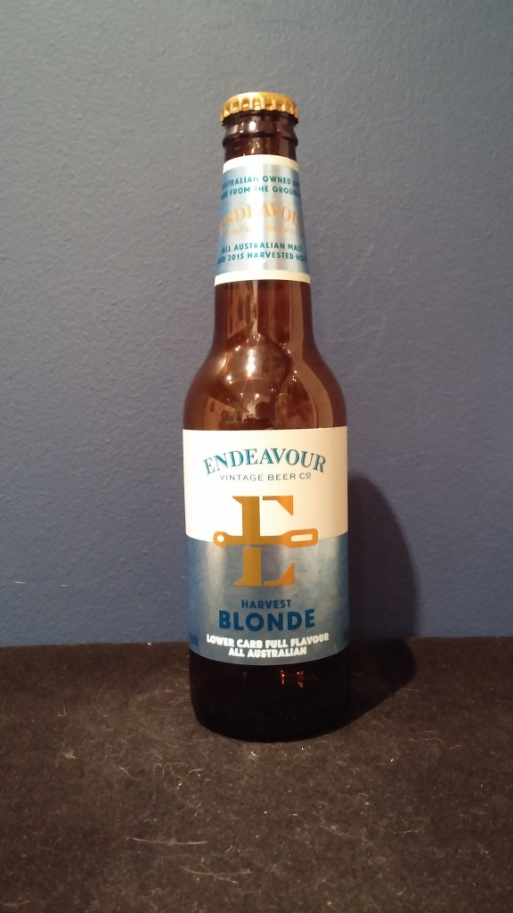 Harvest Blonde, Endeavour.jpg