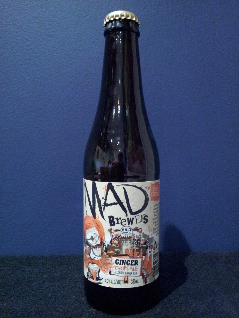 Mad Brewers Ginger Chops Ale, Malt Shovel.jpg