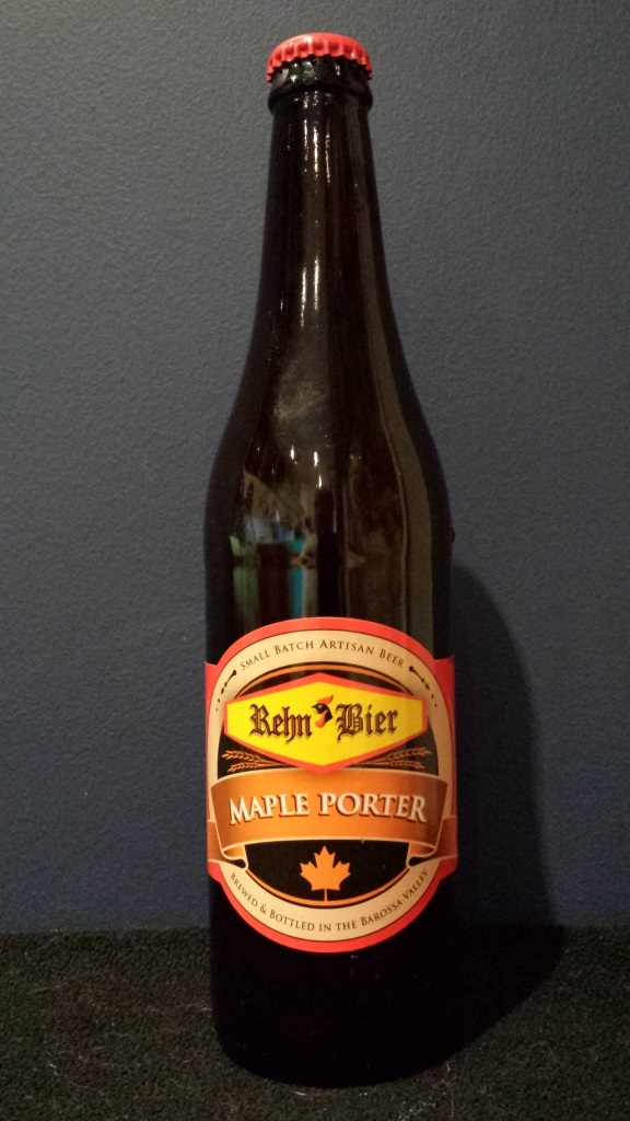 Maple Porter, Rehn Bier.jpg