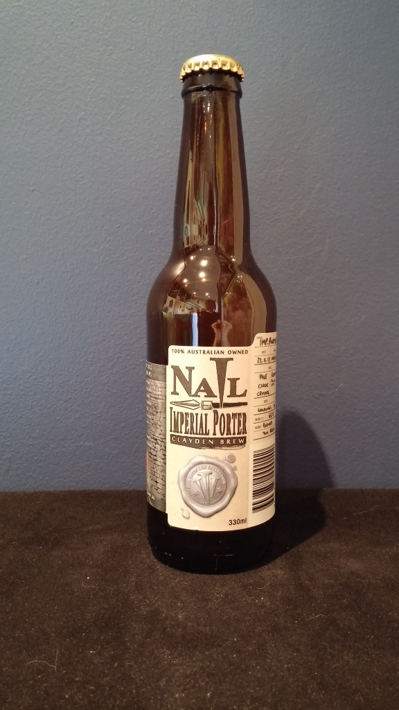 Nail Imperial Porter Clayden Brew, Nail Brewing.jpg