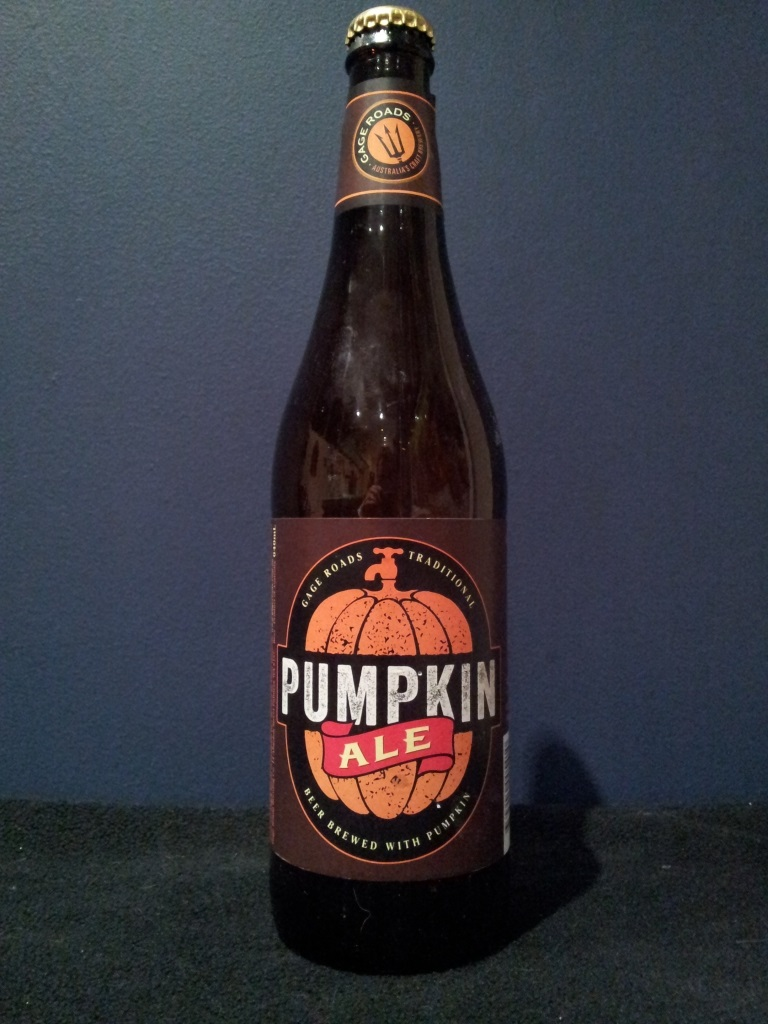 Pumpkin Ale, Gage Roads.jpg