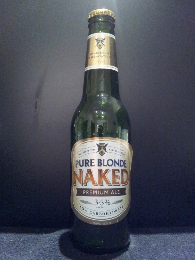 Pure Blonde Naked, Foster's.jpg