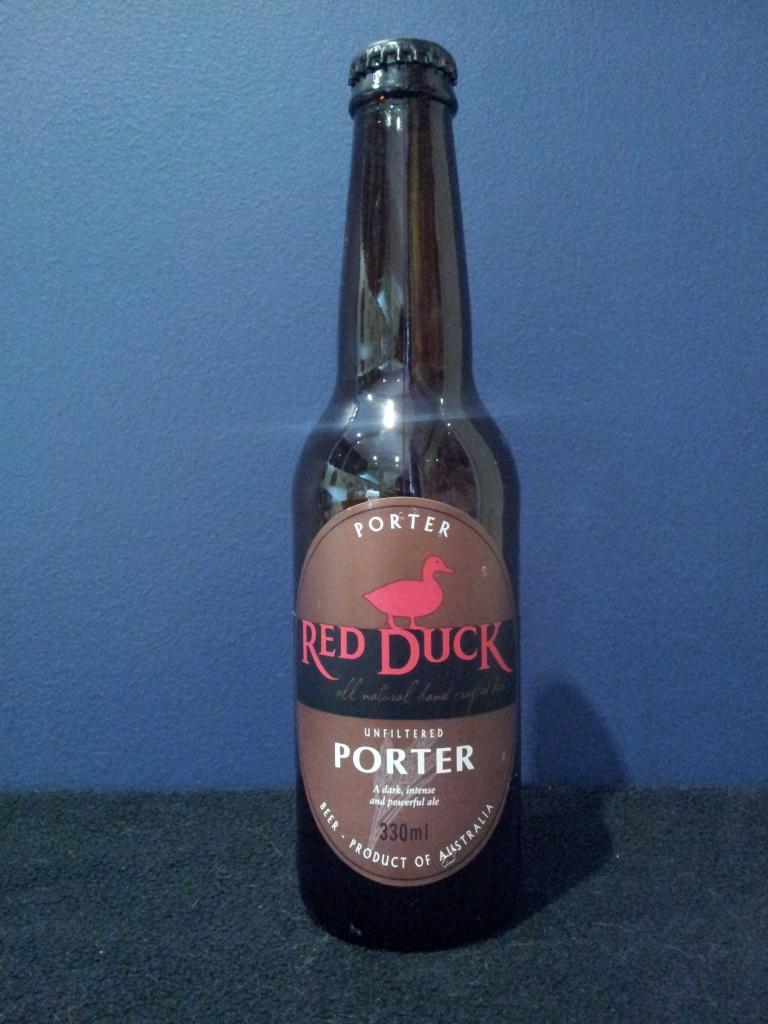 Red Duck Unfiltered Porter, Purrumbete.jpg