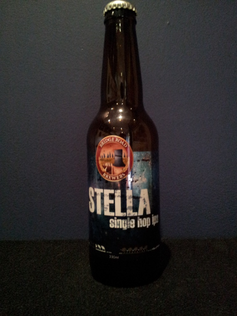 Stella single hop ipa, Bridge Road.jpg