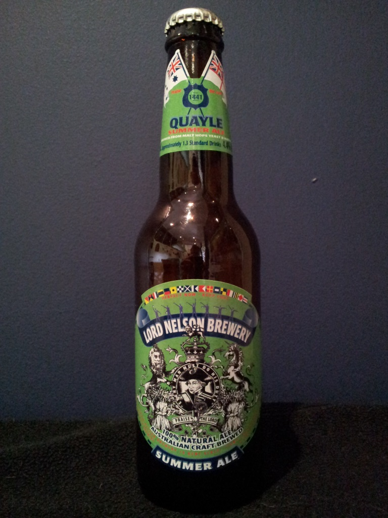 Summer Ale, Lord Nelson.jpg