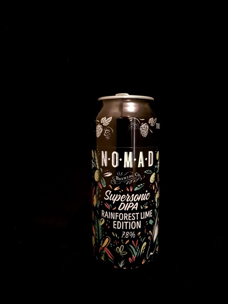 Supersonic DIPA Rainforest Lime Edition, Nomad Brewing Co..jpg