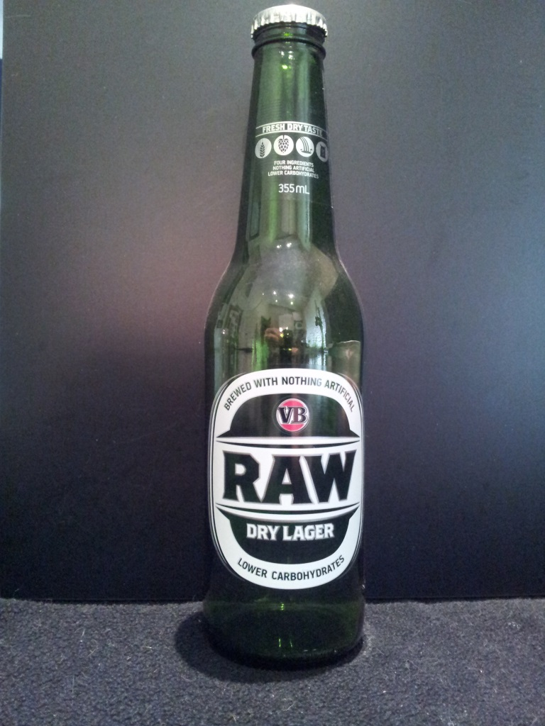 VB Raw Dry Lager, Foster's.jpg