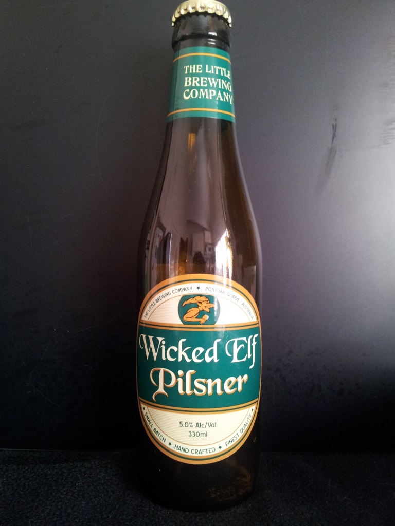 Wicked Elf Pilsner, Little Brewing Company.jpg