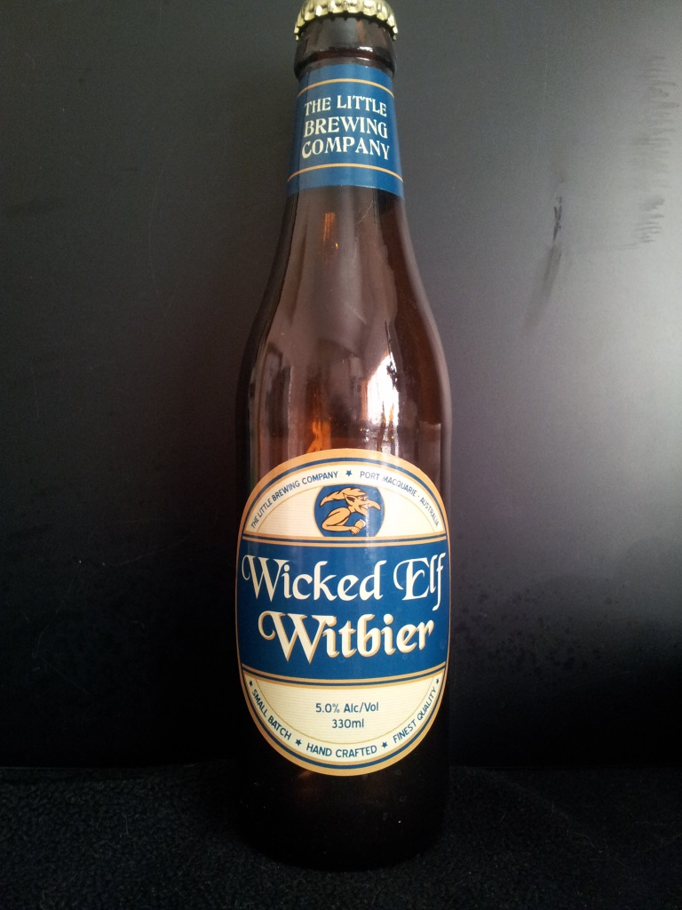 Wicked Elf Witbier, Little Brewing Company.jpg