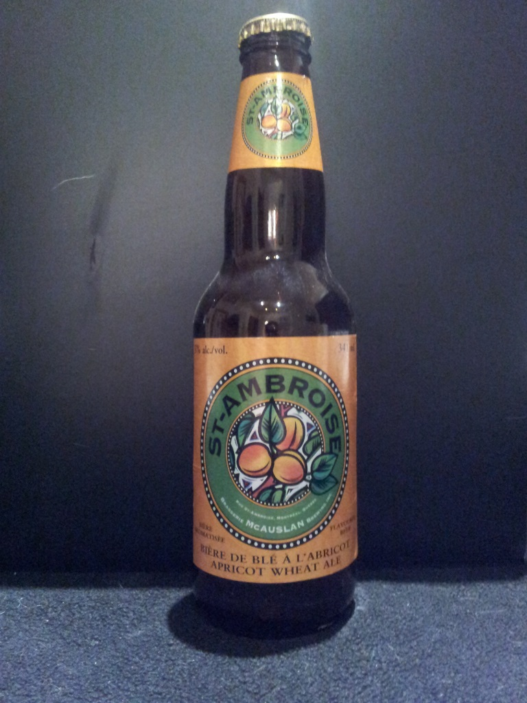 St-Ambroise Apricot Wheat Ale, McAuslan Brewing.jpg