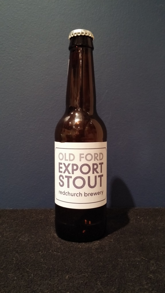 Old Ford Export Stout, Redchurch Brewery.jpg