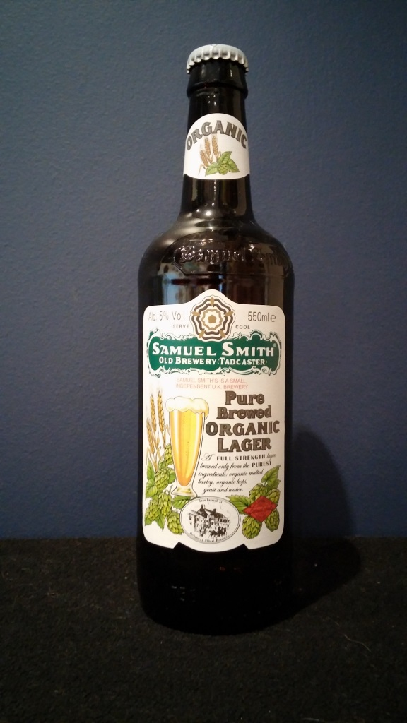 Pure Brewed Organic Lager, Samuel Smith.jpg