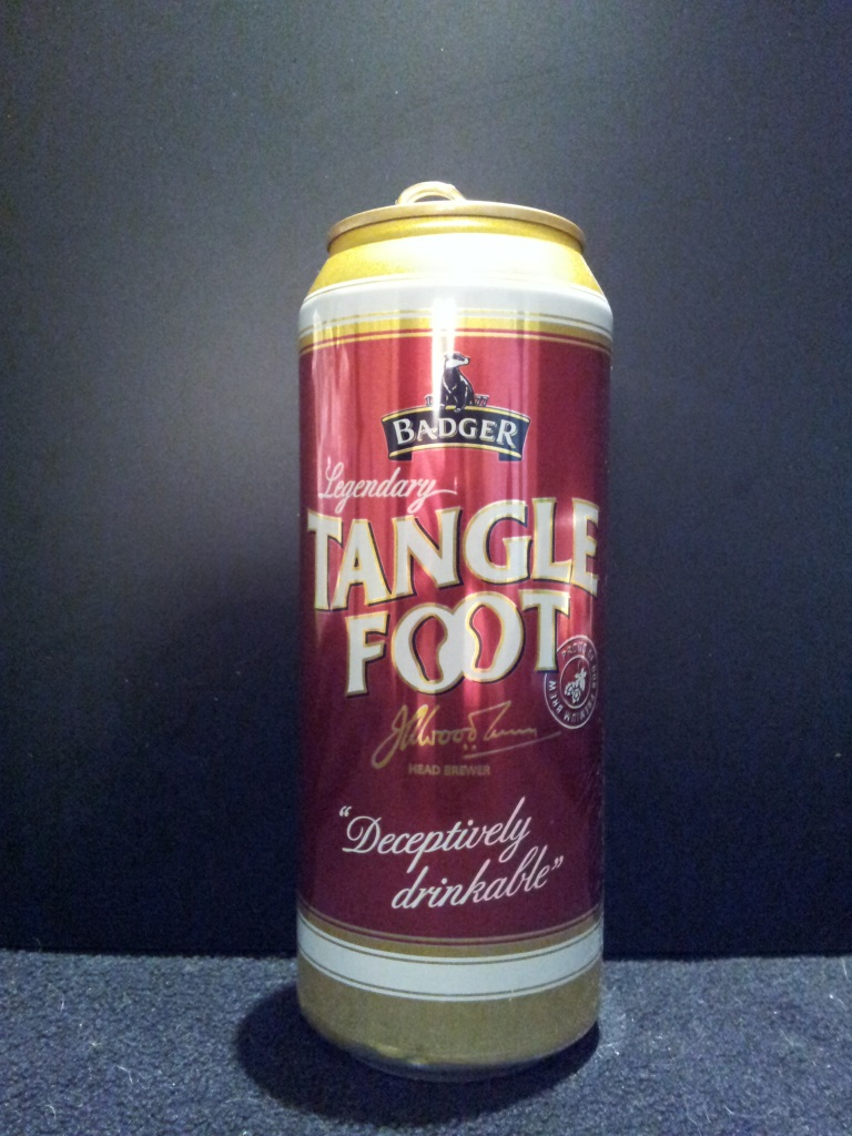 Tanglefoot (can), Badger.jpg