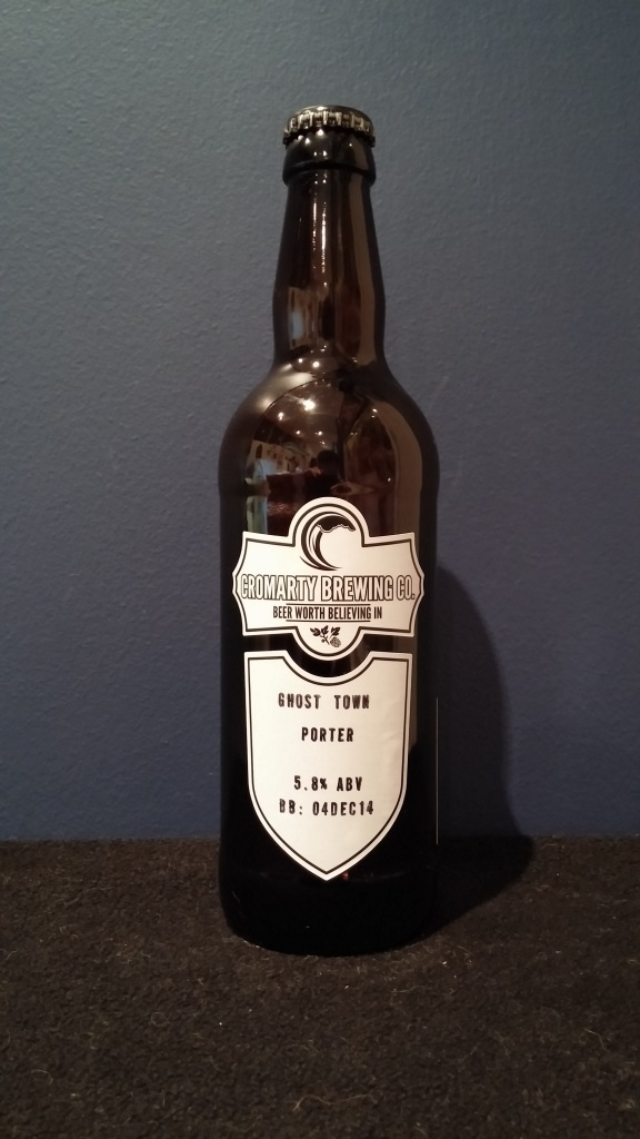 Ghost Town Porter, Cromarty Brewing.jpg