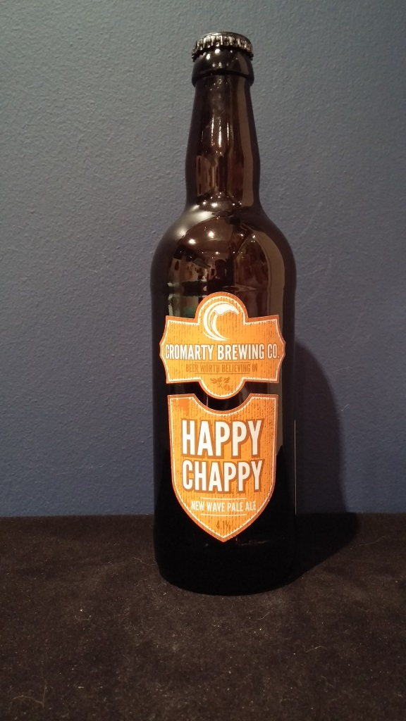 Happy Chappy, Cromarty Brewing.jpg
