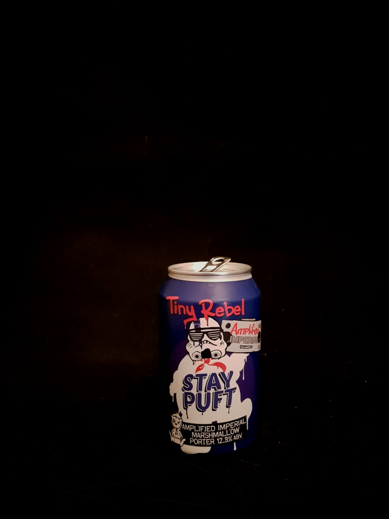 Amplified Stay Puft imperial Marshmallow Porter, Tiny Rebel.jpg